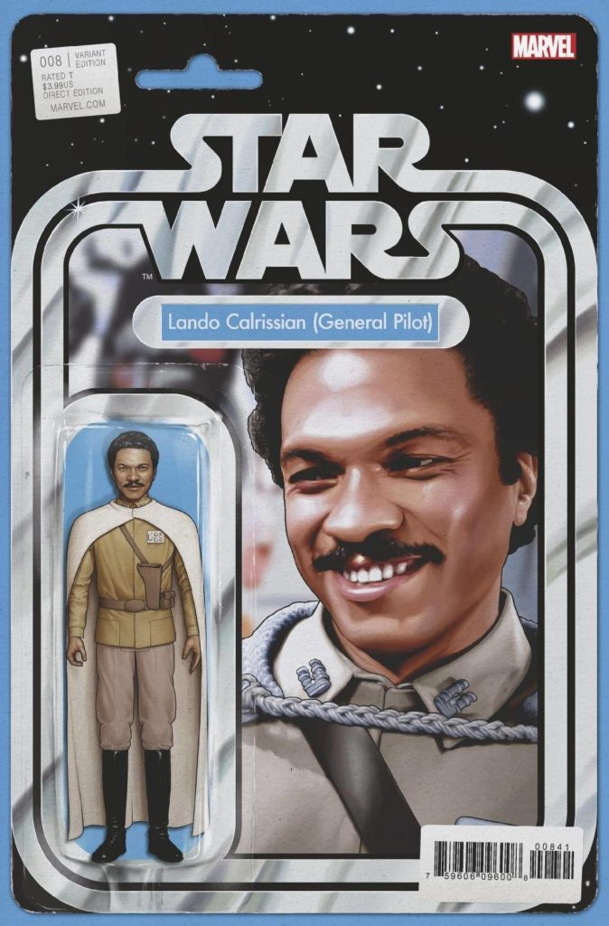 "Star Wars #8 (""Lando Calrissian (General Pilot)"" Action Figure Variant Cover) (04.11.2020)"