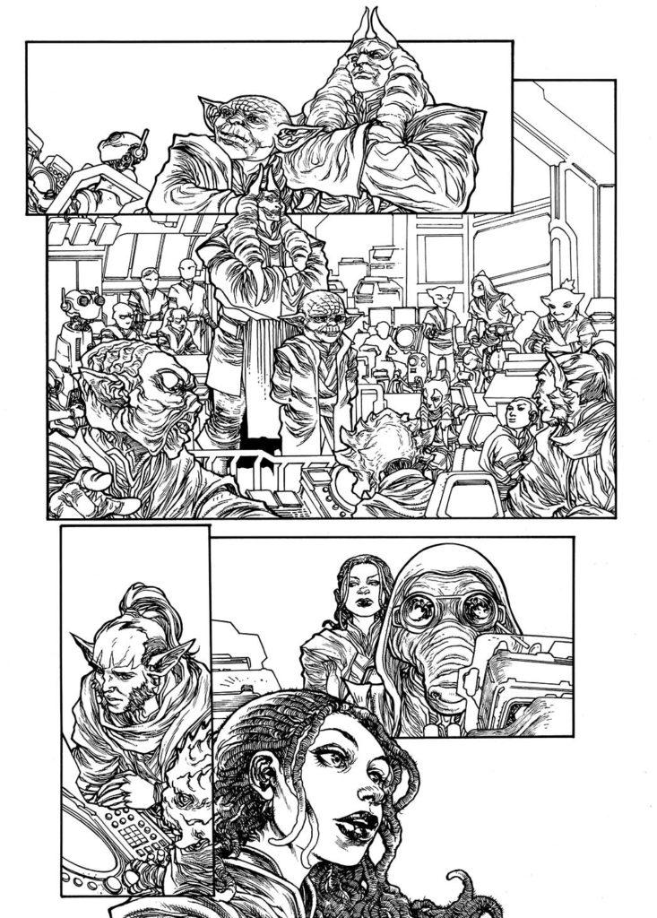 The High Republic Adventures Vorschauseite (Inks) #1