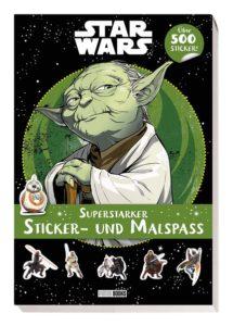 Disney Star Wars: Superstarker Sticker- und Malspaß - mit über 500 Stickern (23.03.2021)