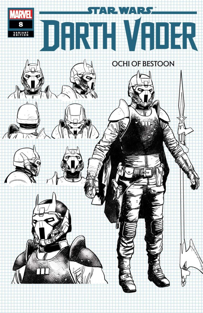 "Darth Vader #8 (""Ochi of Bestoon"" Raffaele Ienco Concept Design Variant Cover) (16.12.2020)"