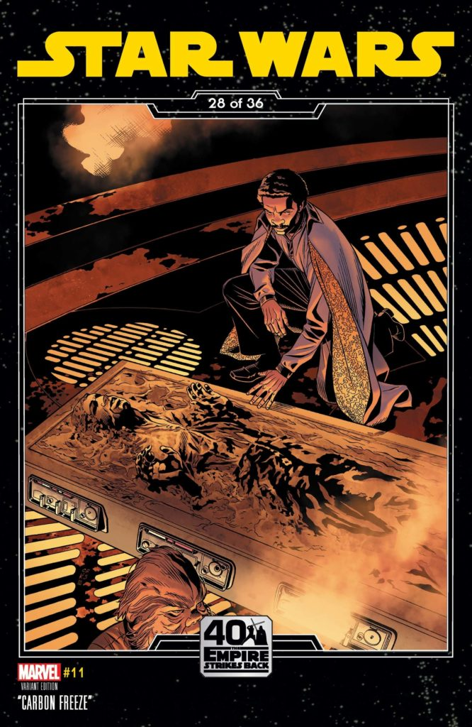 Star Wars #11 (Chris Sprouse The Empire Strikes Back Variant Cover) (03.02.2021)