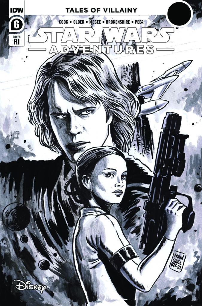 Star Wars Adventures #6 (Francesco Francavilla Black & White Variant Cover) (07.07.2021)