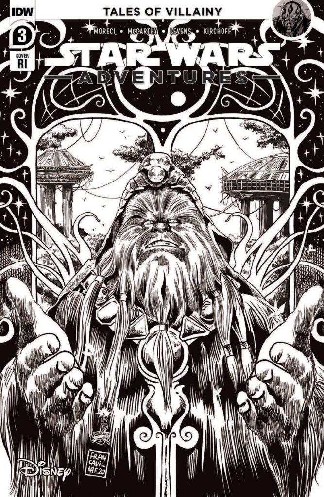 Star Wars Adventures #1 (Francesco Francavilla Black & White Variant Cover) (30.12.2020)