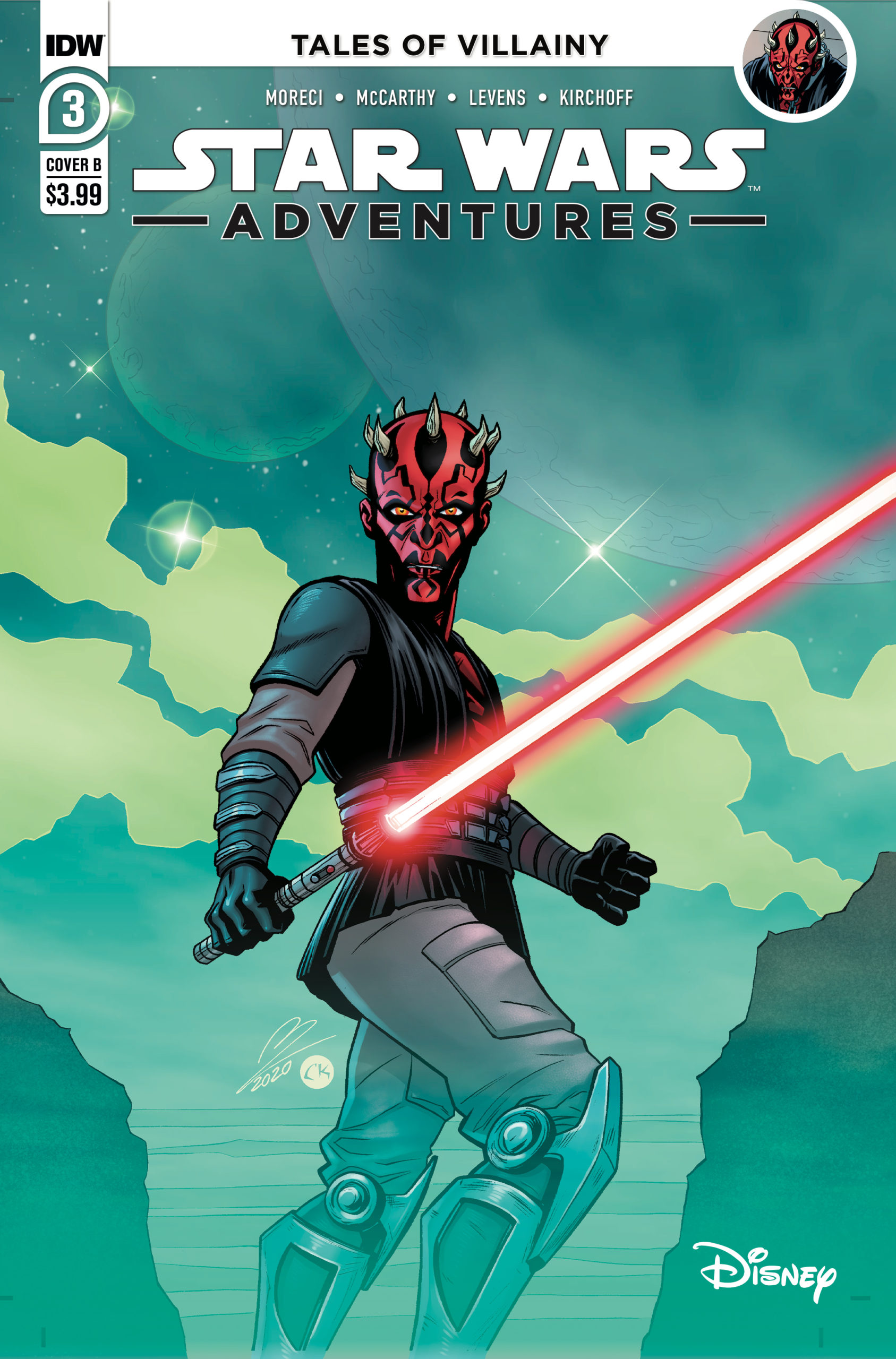 Star Wars Adventures #3 (Cover B by Megan Levens) (30.12.2020)