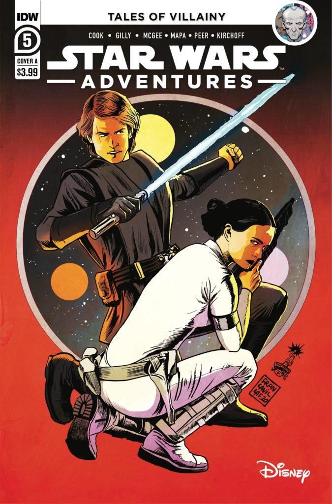 Star Wars Adventures #5 (Cover A by Francesco Francavilla) (23.06.2021)