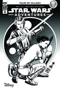Star Wars Adventures #6 (Francesco Francavilla Black & White Variant Cover) (17.02.2021)