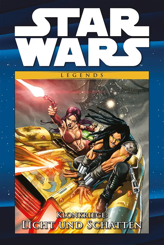 Star Wars Comic-Kollektion, Band 116: Klonkriege: Licht und Schatten (09.03.2021)
