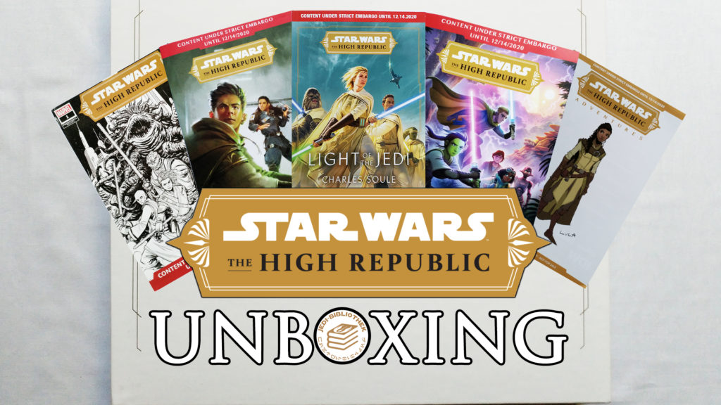 The High Republic Unboxing