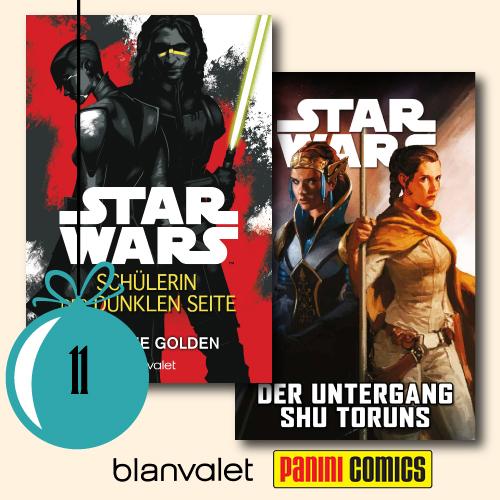 1x Schülerin der dunklen Seite und 1x Star Wars, Band 11: Der Untergang Shu-Toruns