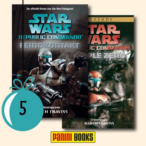 2x Republic Commando 1: Feindkontakt und 2x Republic Commando 2: Triple Zero