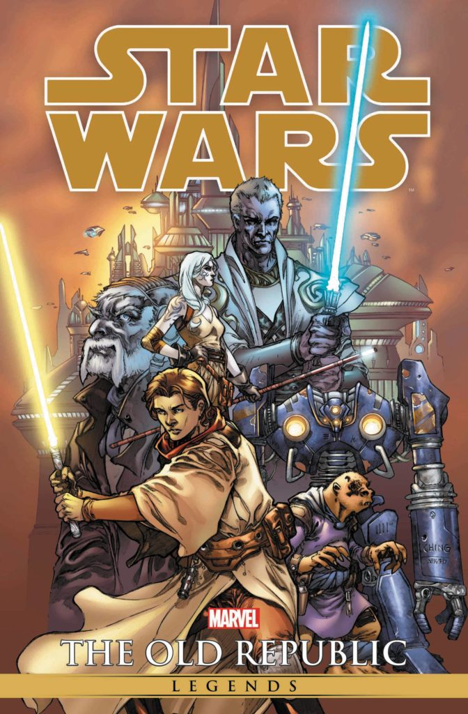 Star Wars Legends: The Old Republic Omnibus (Brian Ching Cover) (07.07.2021)