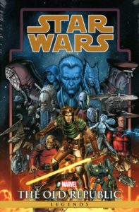 Star Wars Legends: The Old Republic Omnibus Volume 1 (Dustin Weaver Direct Market Cover) (07.07.2021)
