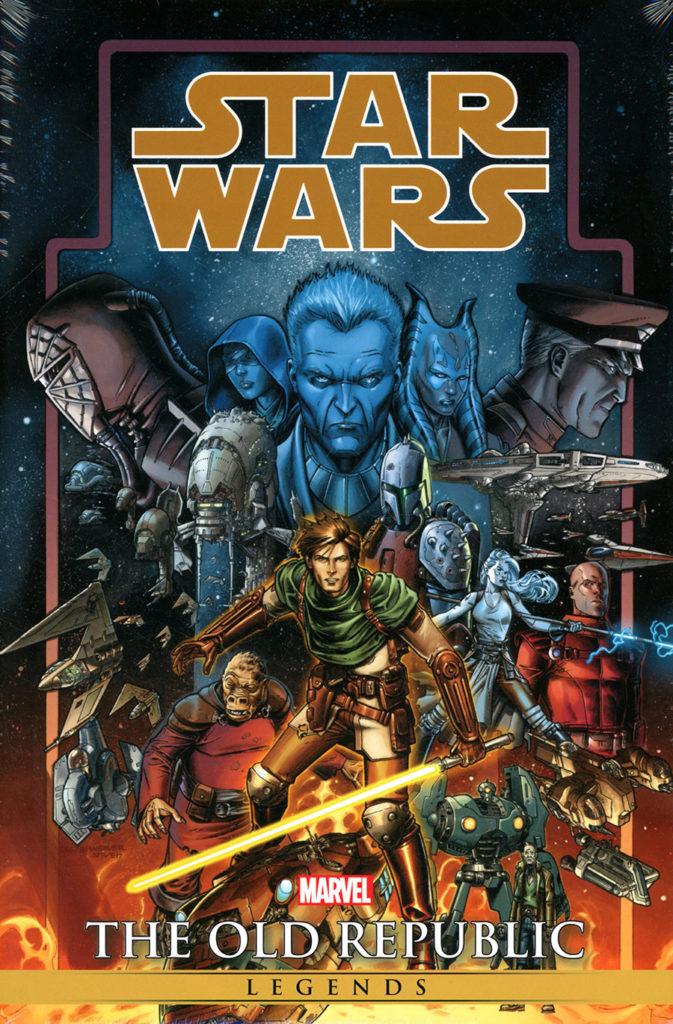 Star Wars Legends: The Old Republic Omnibus (Dustin Weaver Direct Market Cover) (07.07.2021)
