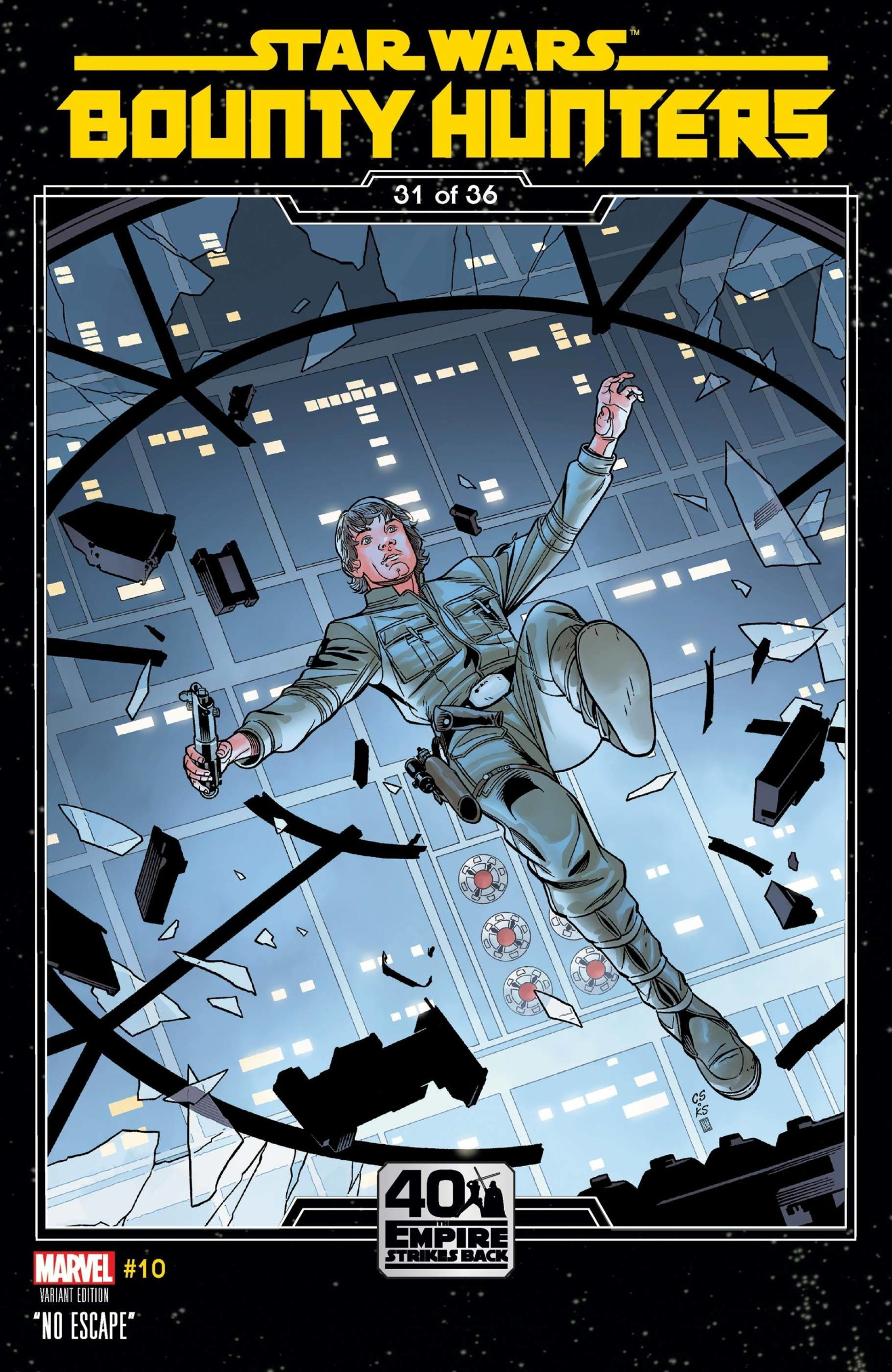 Bounty Hunters #10 (Chris Sprouse The Empire Strikes Back Variant Cover) (17.03.2021)