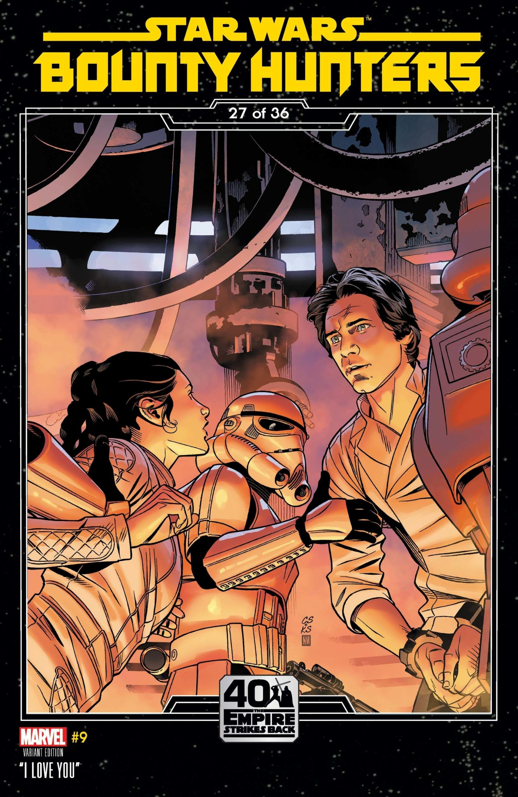 Bounty Hunters #9 (Chris Sprouse The Empire Strikes Back Variant Cover 27 of 36) (27.01.2021)