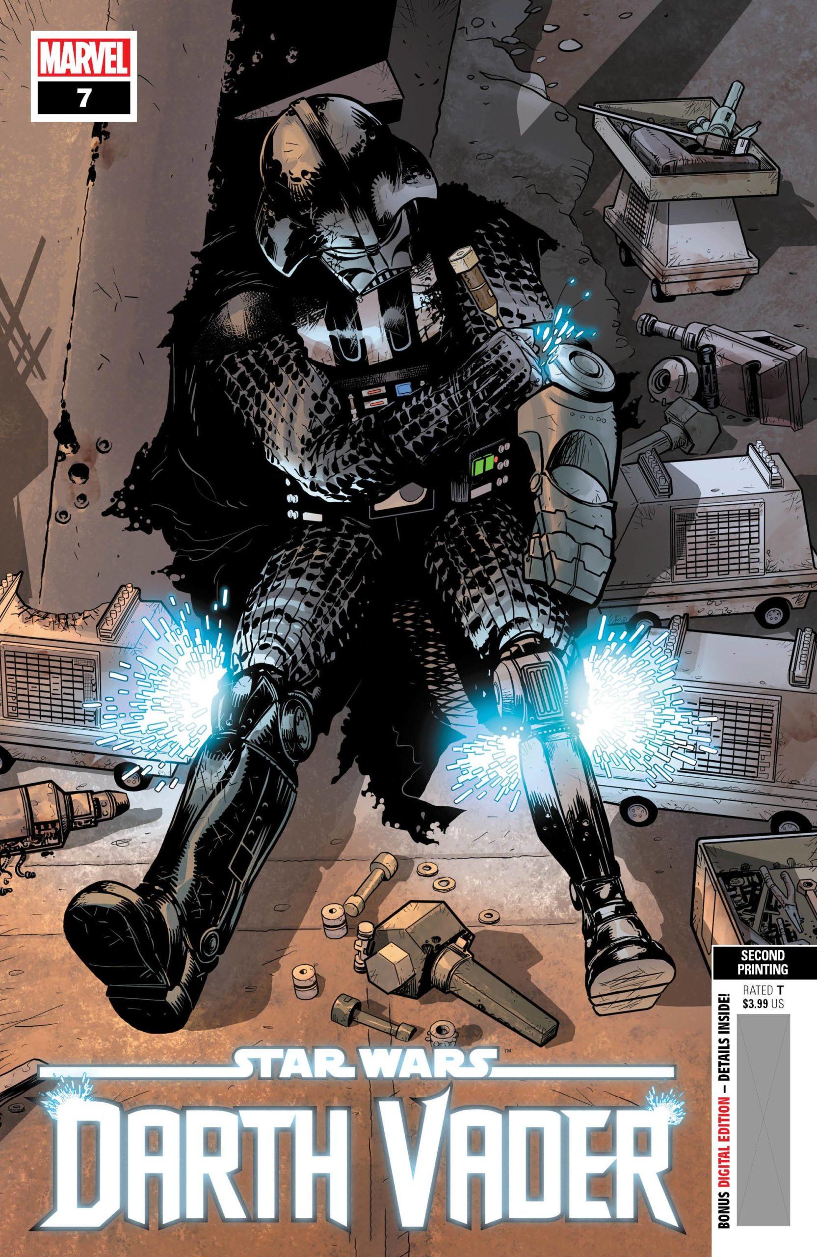 Darth Vader #7 (2nd Printing) (06.01.2021)