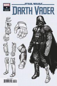 Darth Vader #9 (Raffaele Ienco Concept Design Variant Cover) (13.01.2021)