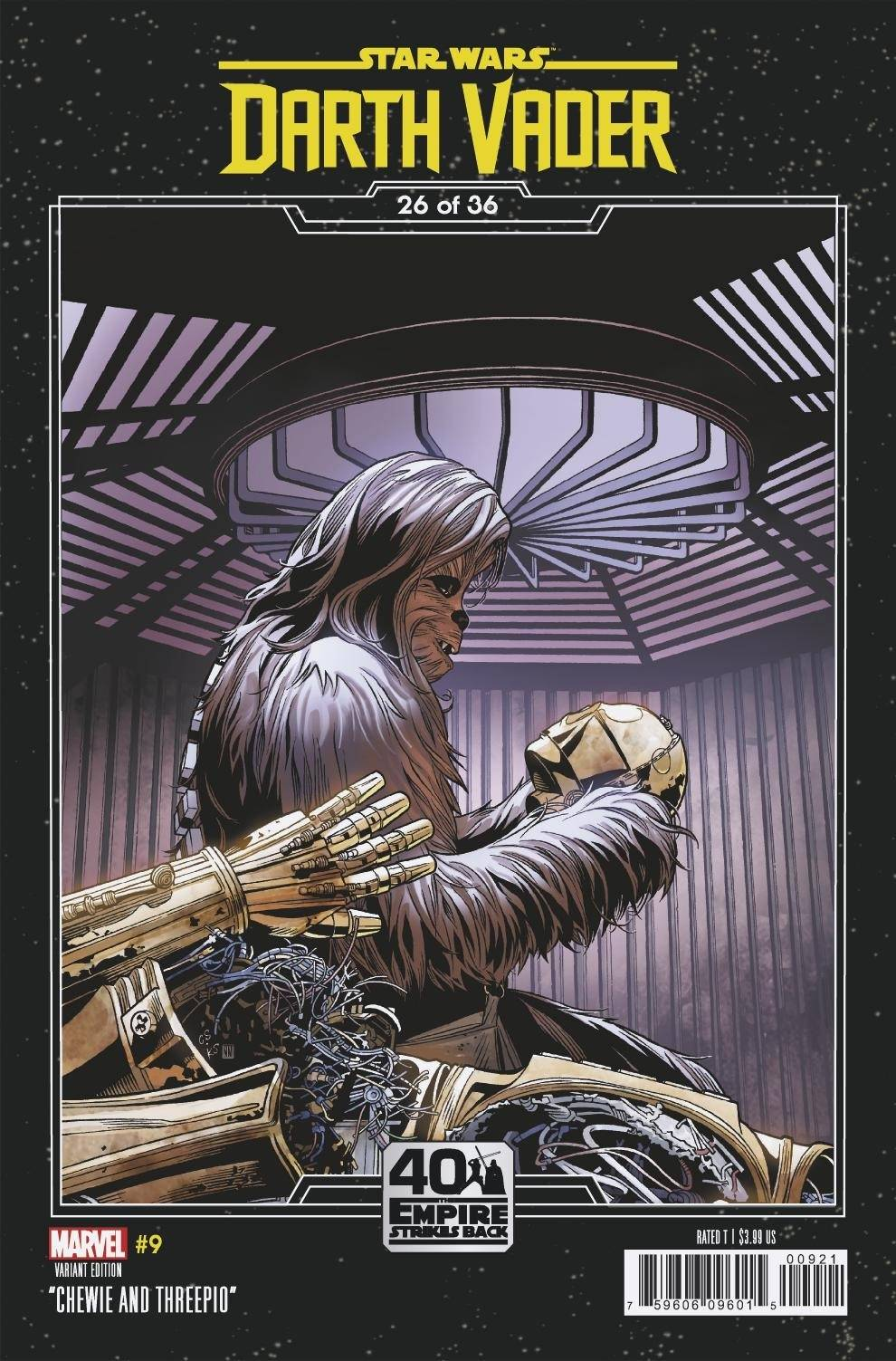 Darth Vader #9 (Chris Sprouse The Empire Strikes Back Variant Cover 26 of 36) (13.01.2021)