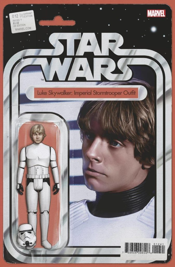 "Star Wars #12 (""Luke Skywalker: Imperial Stormtrooper Outfit"" Action Figure Variant Cover) (10.03.2021)"