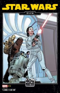 Star Wars #12 (Chris Sprouse The Empire Strikes Back Variant Cover) (10.03.2021)
