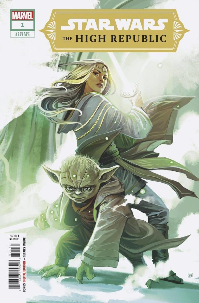 The High Republic #1 (Stephanie Hans Variant Cover) (06.01.2021)