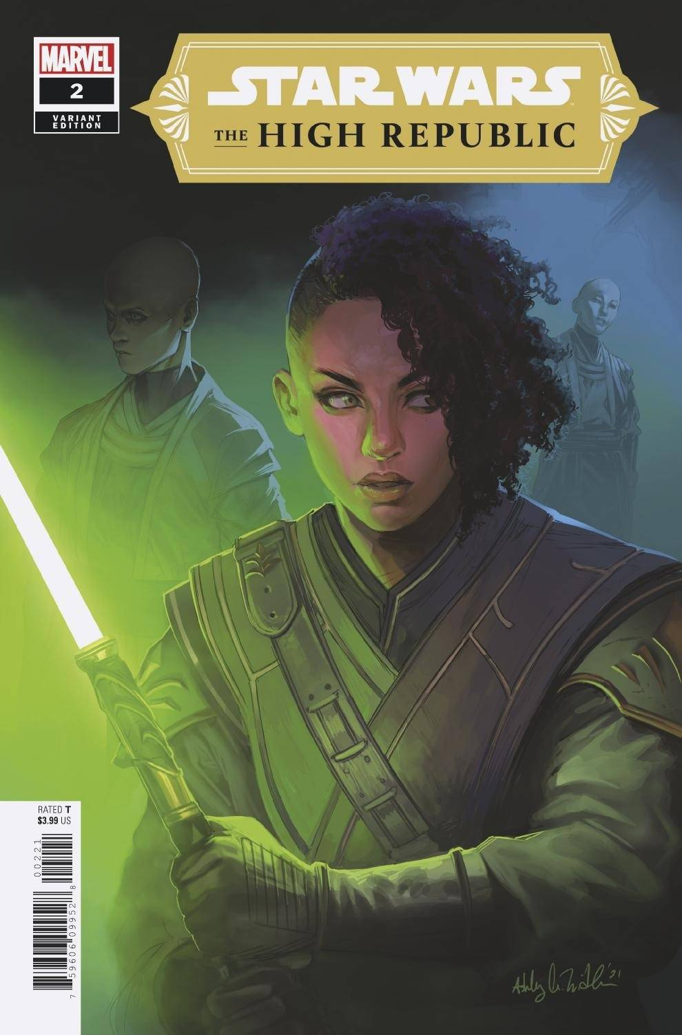 The High Republic #2 (Ashley Witter Variant Cover) (03.02.2021)