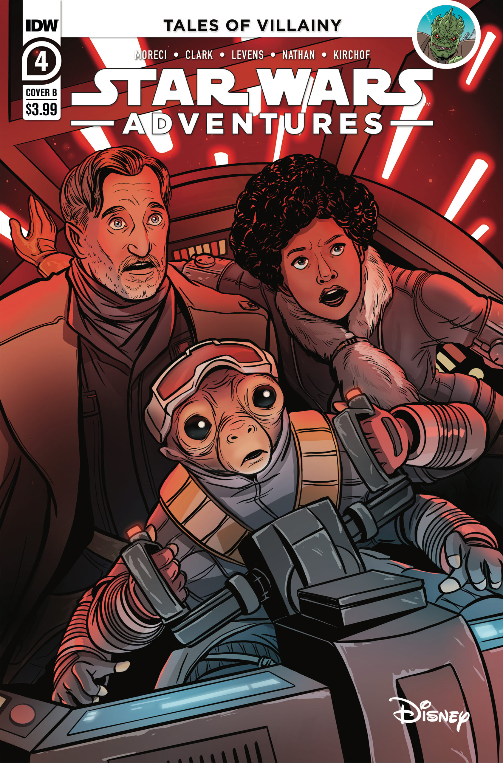 Star Wars Adventures #4 (Cover B by Yael Nathan) (17.03.2021)