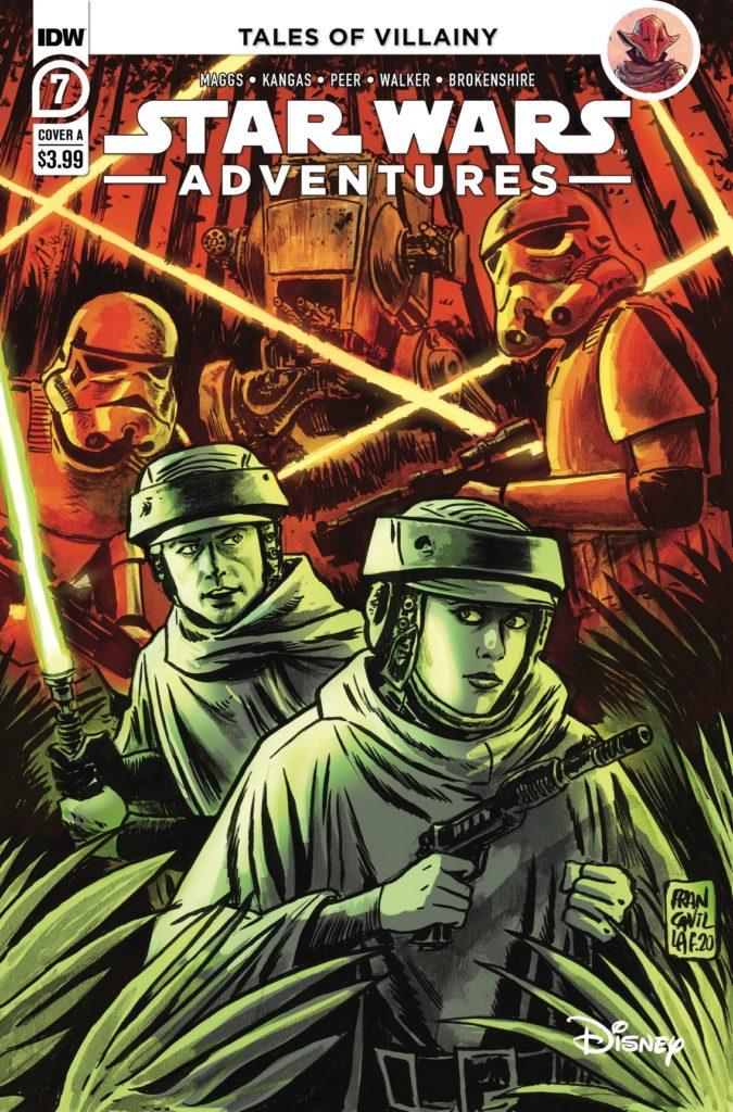 Star Wars Adventures #7 (Cover A by Francesco Francavilla) (März 2021)
