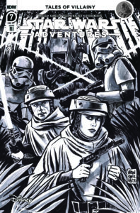 Star Wars Adventures #7 (Francesco Francavilla Black & White Variant Cover) (14.04.2021)