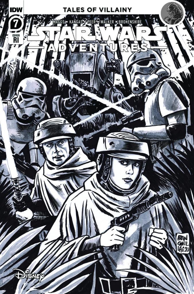 Star Wars Adventures #7 (Francesco Francavilla Black & White Variant Cover) (14.04.2021)