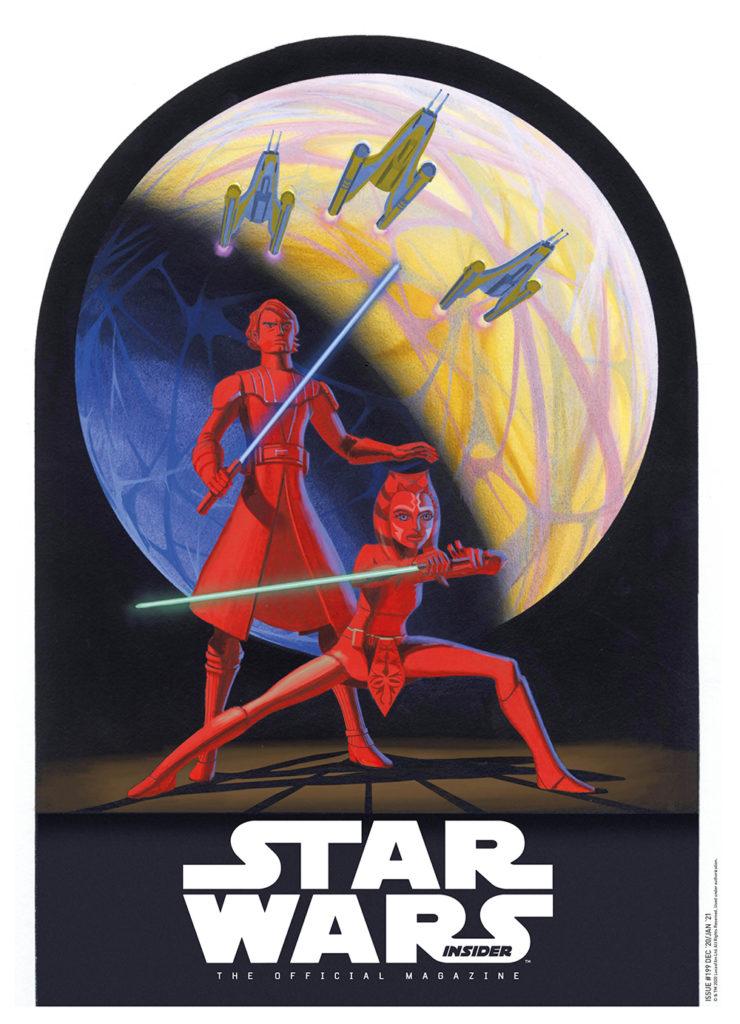 Star Wars Insider #199 (Subscriber Cover) (15.12.2020)