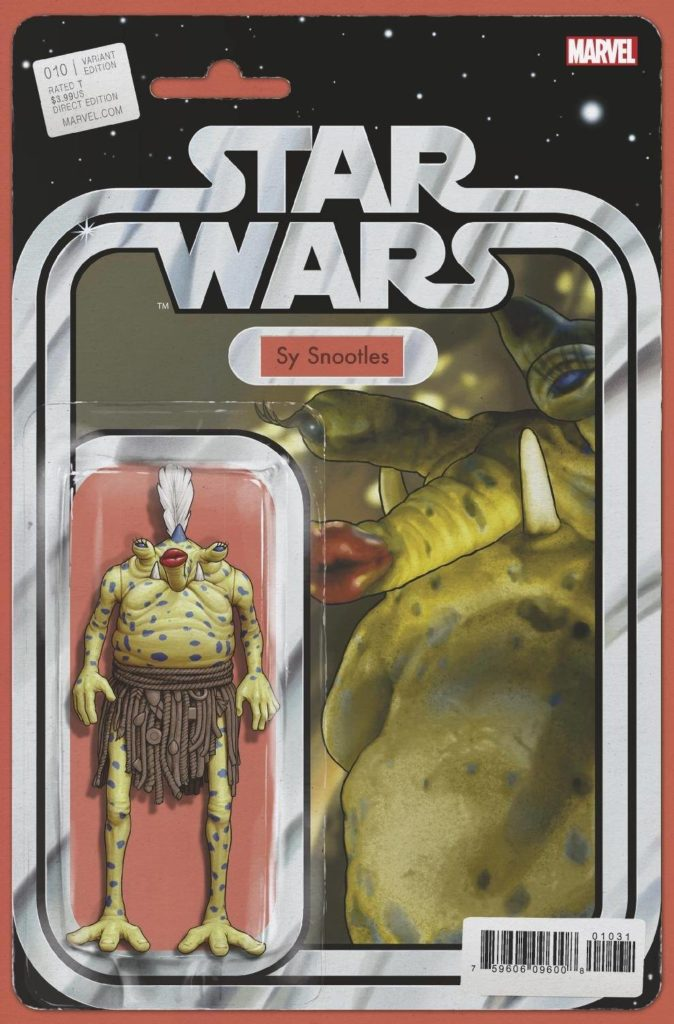 """Star Wars #10 (""""Sy Snootles"""" Action Figure Variant Cover) (06.01.2021)"""
