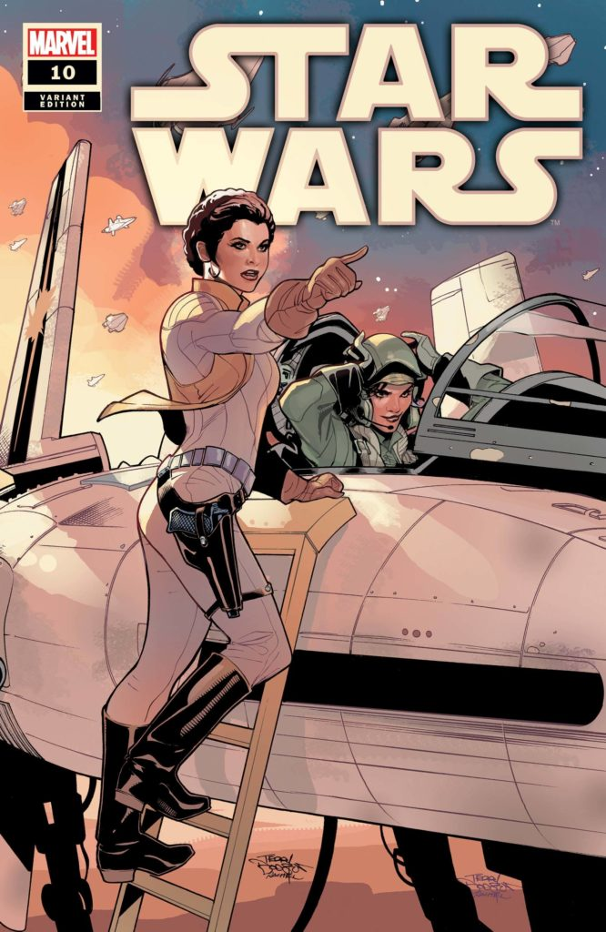 Star Wars #10 (Terry Dodson Variant Cover) (06.01.2021)
