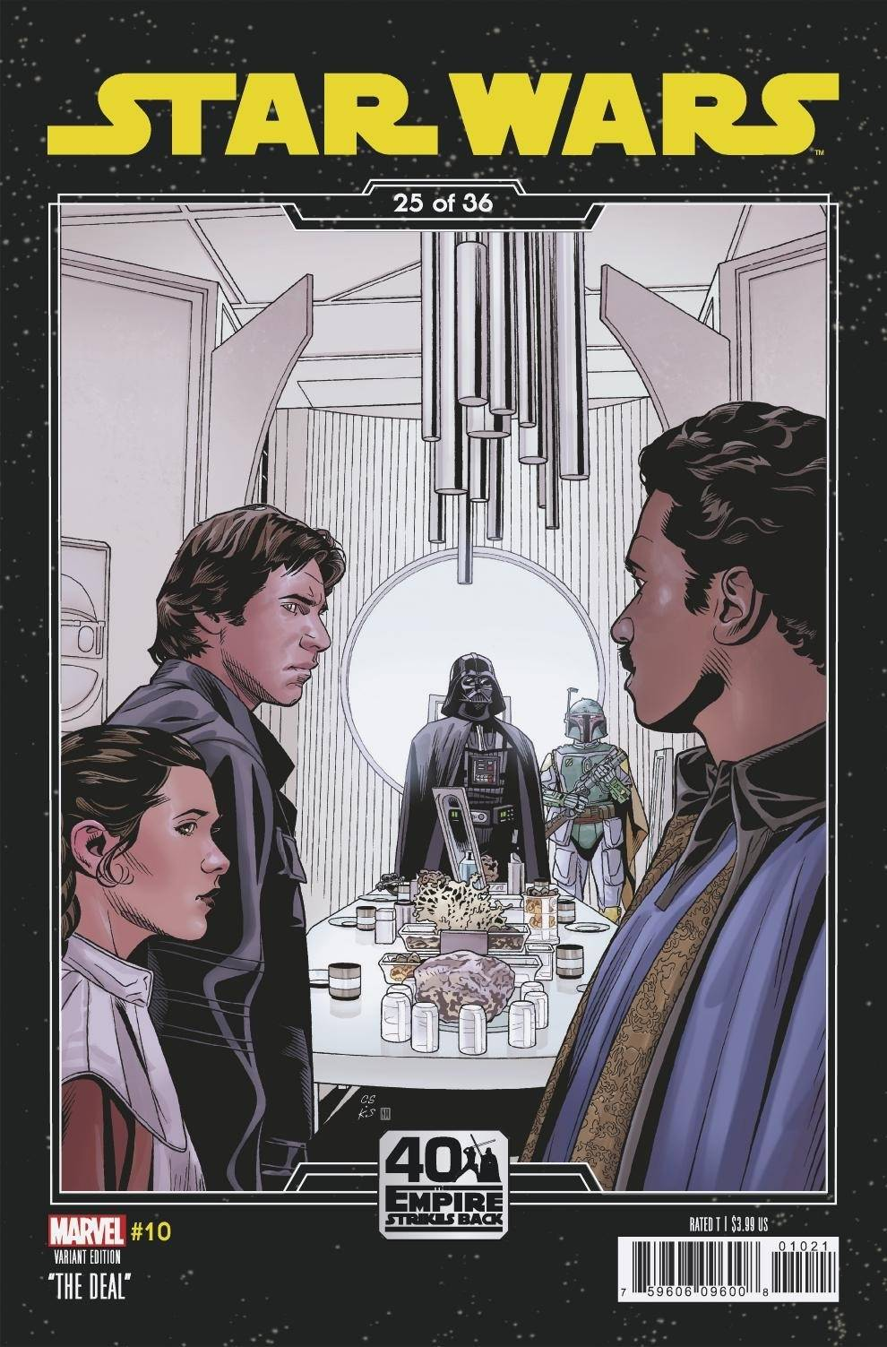 Star Wars #10 (Chris Sprouse The Empire Strikes Back Variant Cover 25 of 36) (06.01.2021)