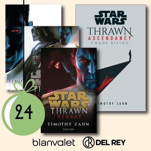 1x die Thrawn-Trilogie und 1x Thrawn: Ascendancy
