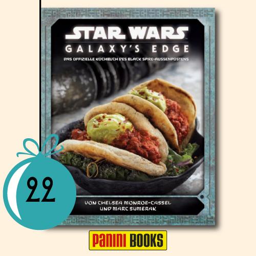 1x Galaxy's Edge: Das offizielle Kochbuch des Black-Spire-Außenpostens