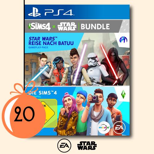 2x Sims 4 x Star Wars-Bundle für die PS4