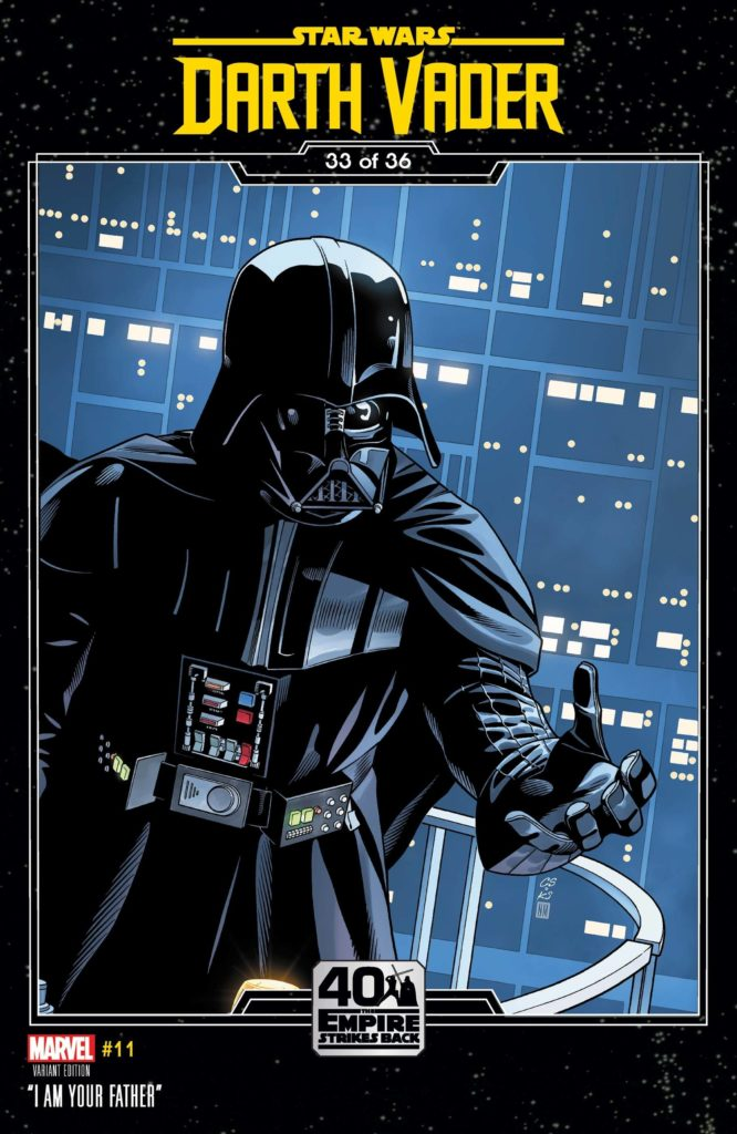Darth Vader #11 (Chris Sprouse The Empire Strikes Back Variant Cover) (28.04.2021)