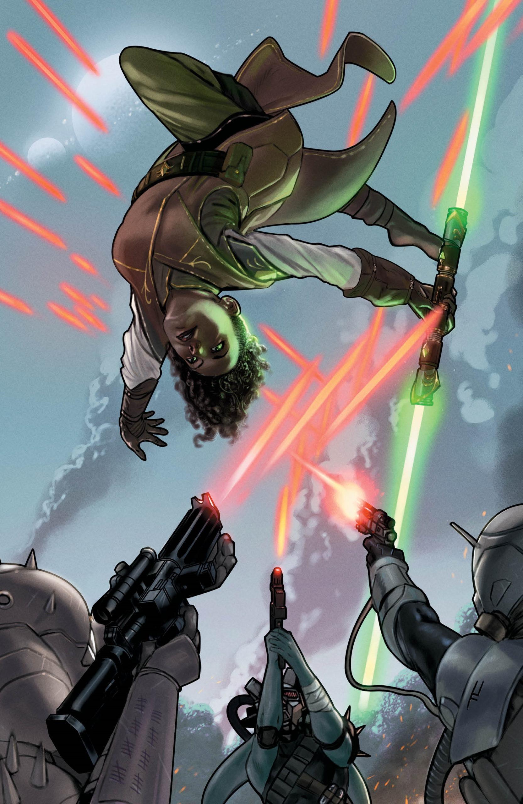 The High Republic #2 (Taurin Clarke Golden Apple Comics Virgin Variant Cover) (03.02.2021)