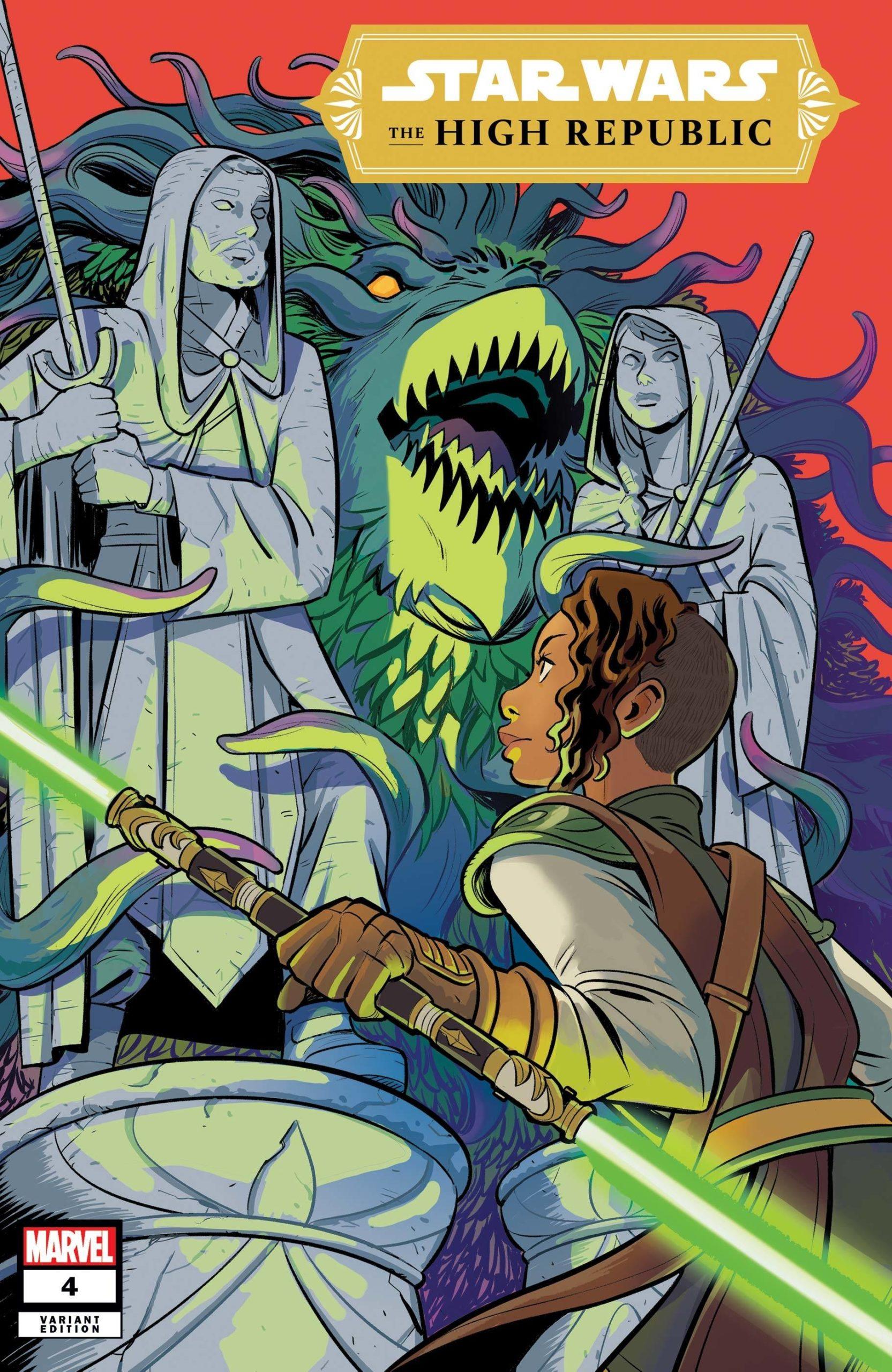 The High Republic #4 (Natacha Bustos Variant Cover) (07.04.2021)