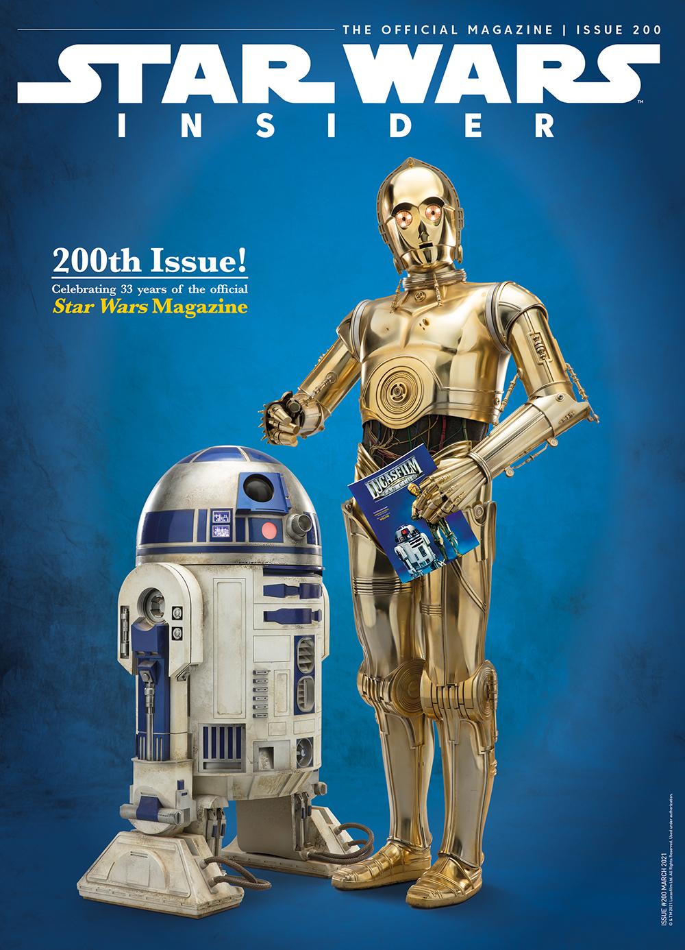 Star Wars Insider #200 (Subscriber Cover) (09.02.2021)