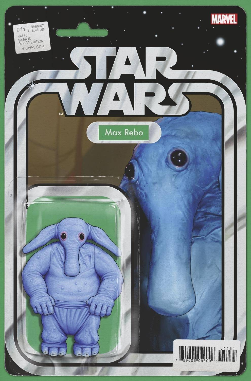 "Star Wars #11 (""Max Rebo"" Action Figure Variant Cover) (03.02.2021)"