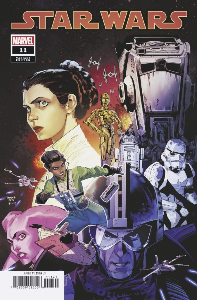 Star Wars #11 (Dan Mora Variant Cover) (03.02.2021)
