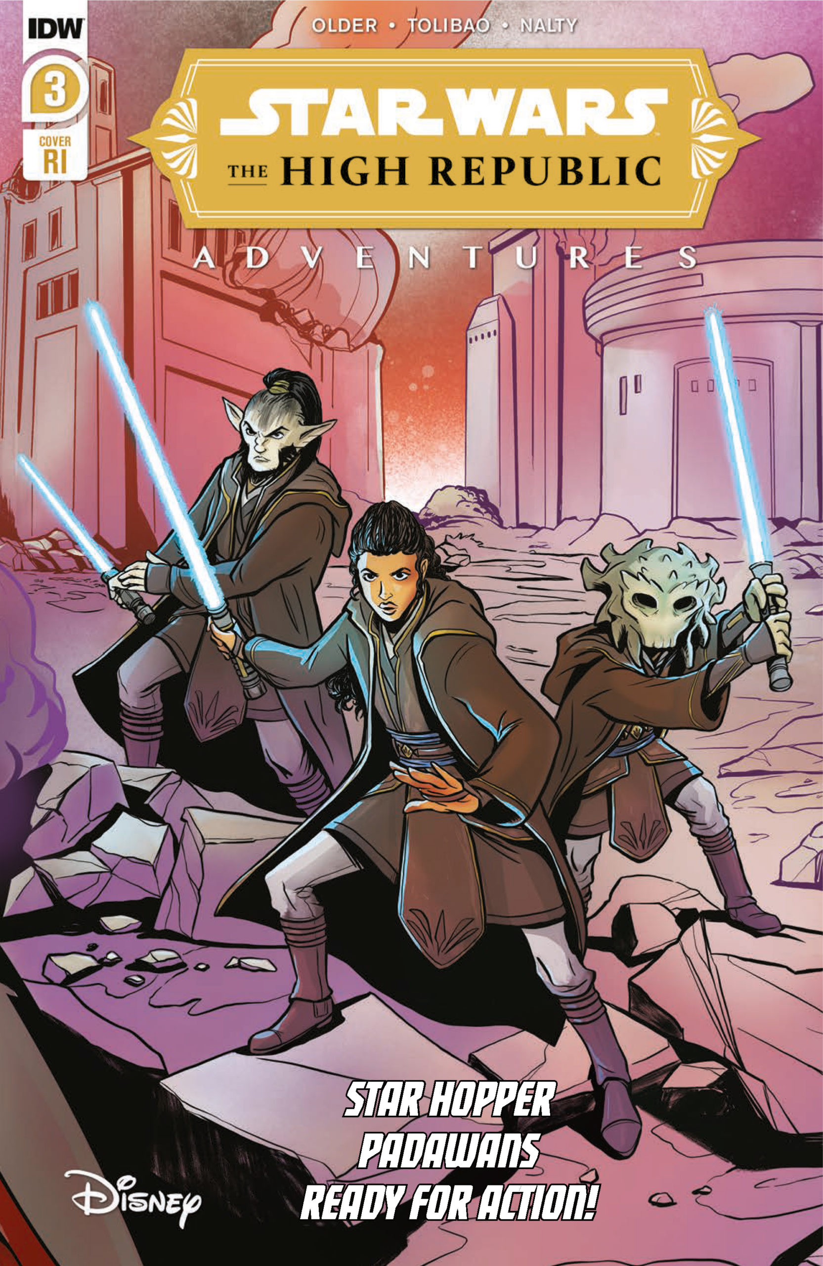 The High Republic Adventures #3 (Yael Nathan Variant Cover) (07.04.2021)