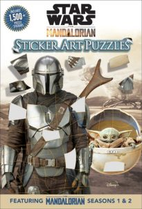 The Mandalorian Sticker Art Puzzles (07.09.2021)