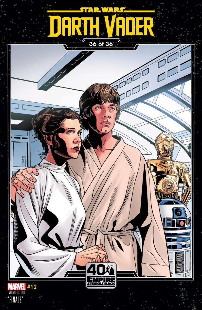 Darth Vader #12 (Chris Sprouse The Empire Strikes Back Variant Cover) (26.05.2021)