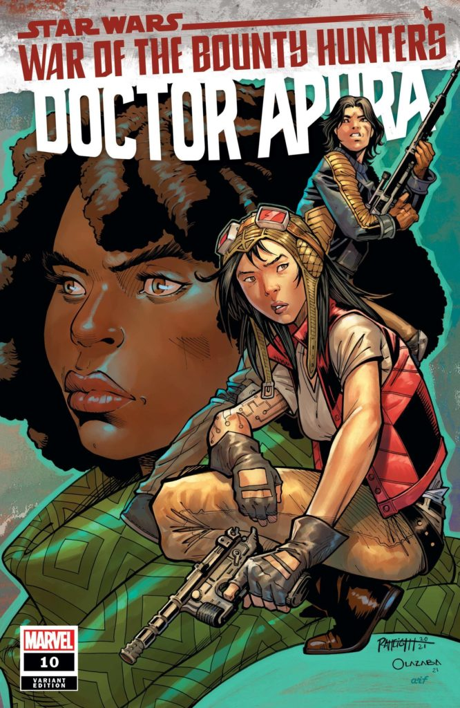 Doctor Aphra #10 (Ray-Anthony Height Variant Cover) (19.05.2021)