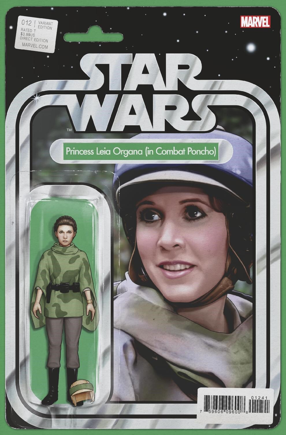 "Star Wars #12 (""Princess Leia Organa in Combat Poncho"" Action Figure Variant Cover) (10.03.2021)"