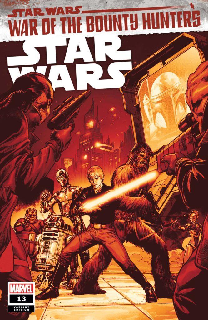 Star Wars #13 (Carlo Pagulayan Crimson Variant Cover) (12.05.2021)