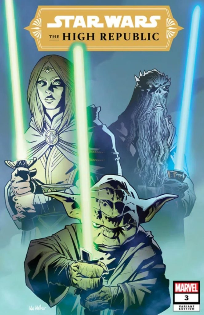 The High Republic #3 (Kev Walker Jedi Masters Variant Cover)